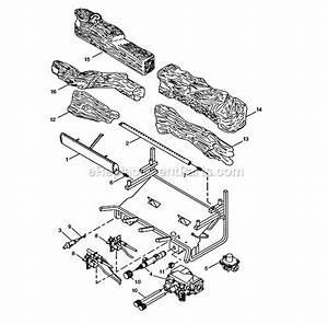 Monessen Dlx28 Parts List And Diagram
