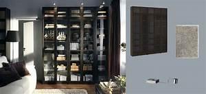 Bibliotheque Verre : billy biblioth ques brun noir avec portes en verre tremp et grundtal clairage vitrine en acier ~ Voncanada.com Idées de Décoration
