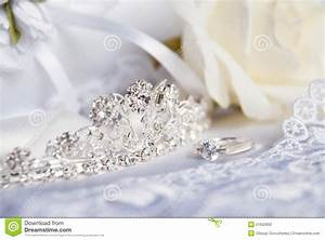 wedding tiara diadem and bridal accessories stock photo With wedding photography accessories