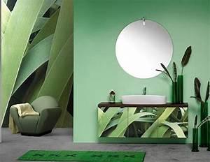 22 Modern Bathroom Ideas Blending Green Color into ...