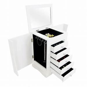 Boite A Bijoux Design : meuble de rangement pour bijoux coiffeuse design achat vente boite a bijoux meuble de ~ Melissatoandfro.com Idées de Décoration