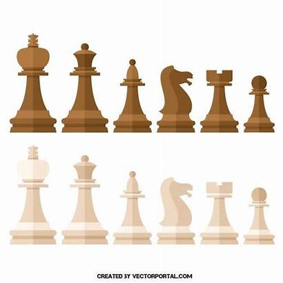 Chess Pieces Clipart Buildings Vector Pack Ai