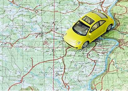 Travel Route Map Choose Itinerary Traveling Kelly