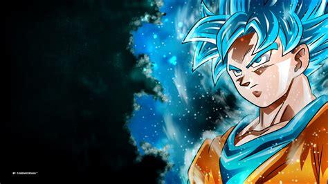 Goku Animated Wallpaper - goku saiyan blue wallpaper hd