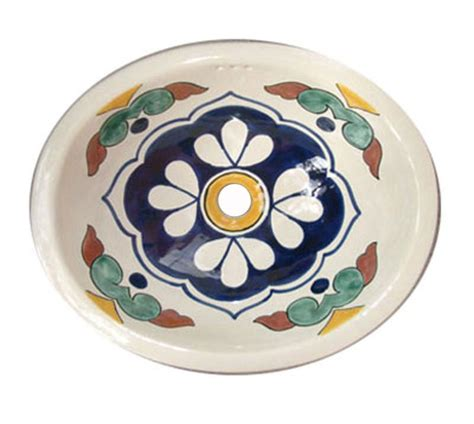 mexican hand painted sinks talavera mexican hand painted sink casa daya talavera tile