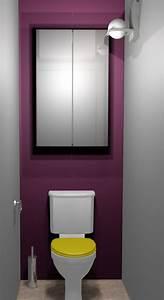decoration interieur toilettes exemples d39amenagements With decoration des toilettes design