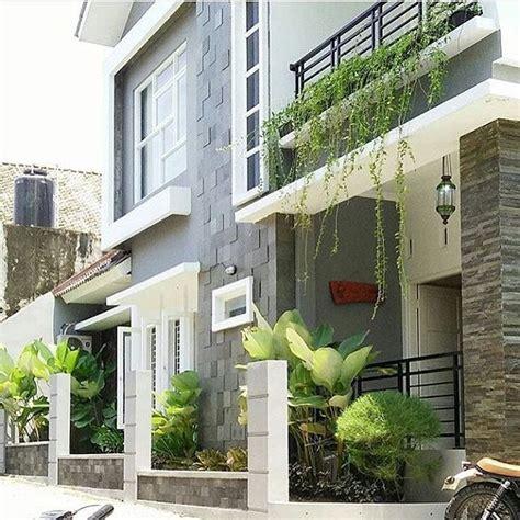 gambar teras rumah minimalis  batu alam desain