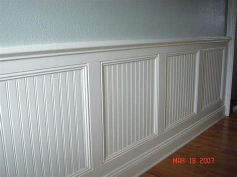 Beadboard Or Wainscoting by Combination Beadboard Board And Batten Wainscoting