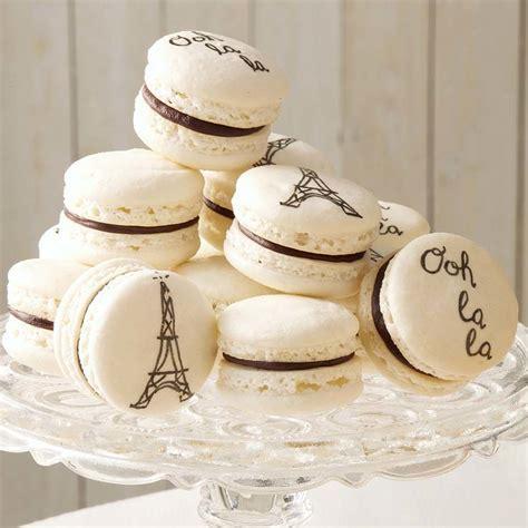 elegant french macarons wilton