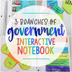3 Branches Of Government Interactive Notebook  U2013 Learn In Color