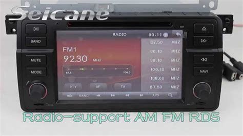 Bmw E46 Head Unit Audio System Upgrade To Touch Screen In