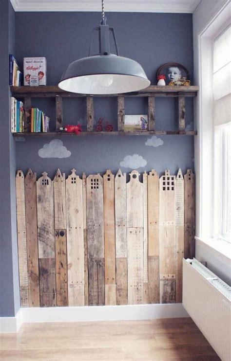 Deko Häuser Kinderzimmer by H 228 User Kinderzimmer Wand Mit Holz Verkleiden Und