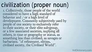 Civilization - Definition