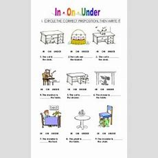 Prepositions For Kids  Esl Worksheet By Pepapelaez