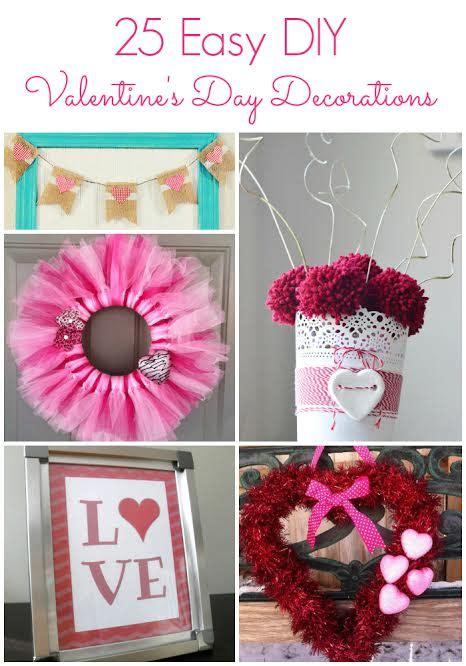 25 Easy Diy Valentine's Day Decorations! #diy
