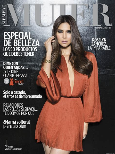 roselyn sanchez sexy roselyn sanchez sexy and fearless in new issue of siempre