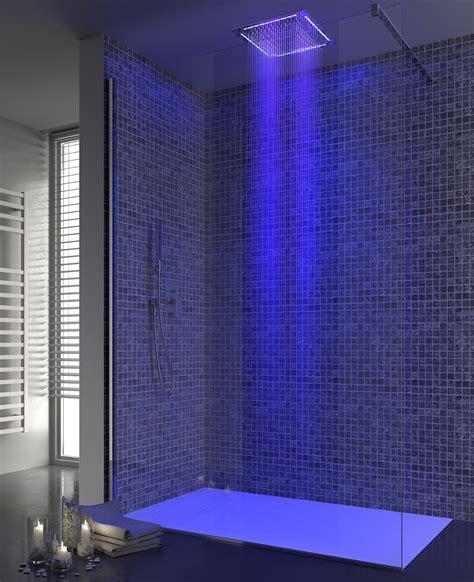 doccia cromoterapia soffione doccia led come funziona ispirazione per la casa