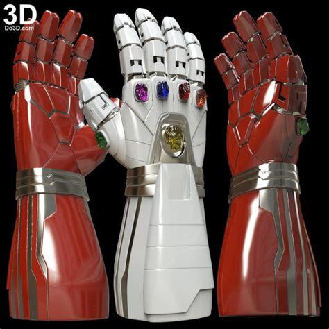 printable model hulks nano gauntlet type