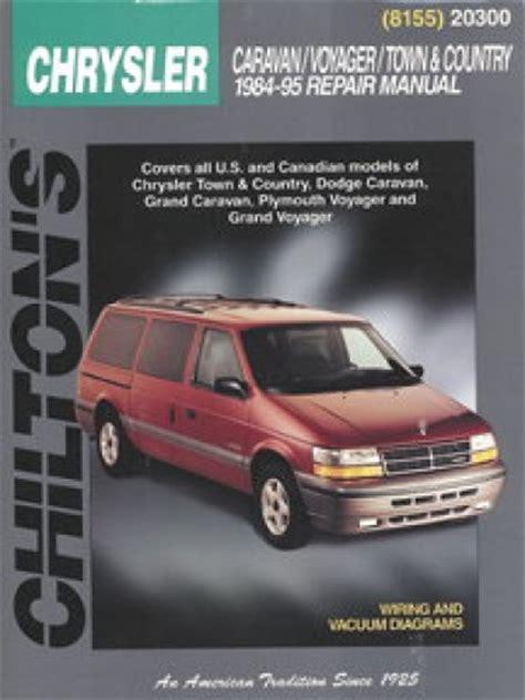 manual repair autos 1995 dodge grand caravan spare parts catalogs chilton dodge caravan voyager town country 1984 1995 repair manual