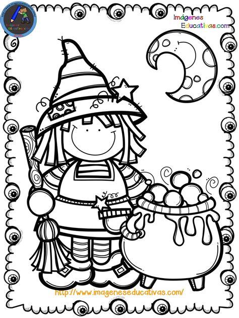 Mi libro para colorear en Halloween (9) Imagenes Educativas