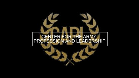 center   army profession  leadership information