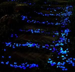 Glow in the Dark Garden Pebbles Fresh Garden Decor