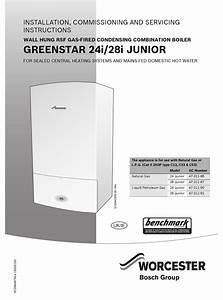 Worcester Greenstar 24i Junior Installation Instructions