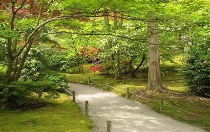 Garden Japanese Background Wallpapers Spring Desktop Backgrounds
