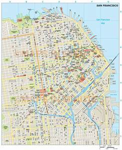 Royalty Free San Francisco Illustrator Vector Format City Map