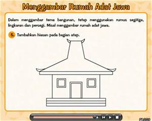 Mewarnai Gambar Rumah Adat Papua Gambar Mewarnai Rumah Adat Joglo
