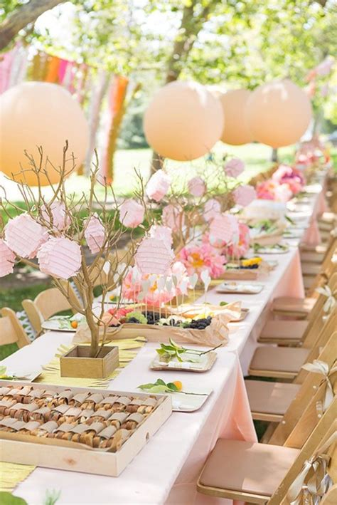 ideas for bridal showers at home 16 bright bridal shower ideas baby shower