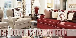Reader Room Inspiration How Do I Decorate With A Red Couch ...