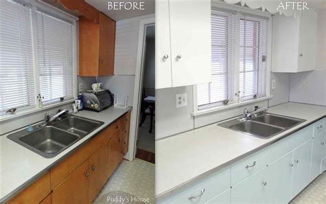 painting kitchen cabinets white before and after painted kitchen cabinet ideas before and after deductour 9702