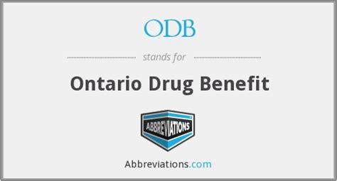 Ontario Drug Benefit