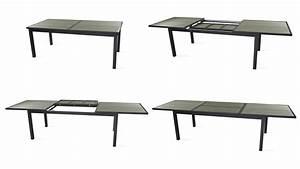 Table Aluminium Extensible : salon table de jardin extensible 10 places ~ Teatrodelosmanantiales.com Idées de Décoration