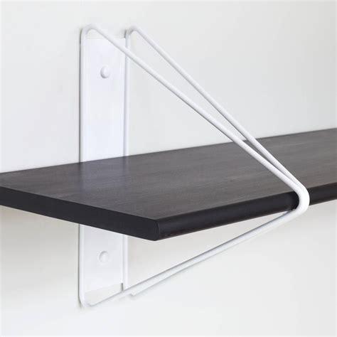 Wall Bracket Shelf System by Strut Shelving System Modern Wood Wall Shelf With Copper