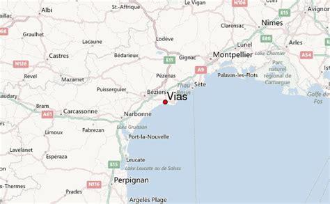 vias location guide