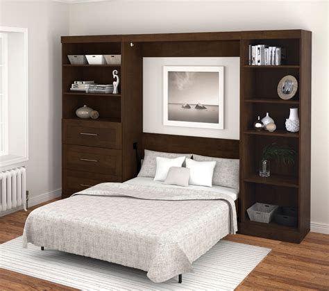 bestar 119in wide wall bed 26852 69