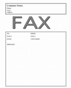fax cover letter design maker by zillion designs With fax cover generator