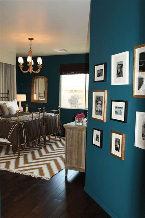 Teal Blue Living Room Decor by Sherwin Williams Marea Baja Teal Blue Bedrooms Chevron