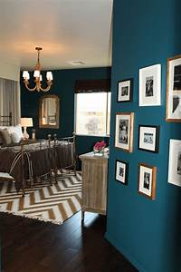 sherwin williams marea baja teal blue bedrooms chevron With kitchen cabinet trends 2018 combined with purple and turquoise wall art