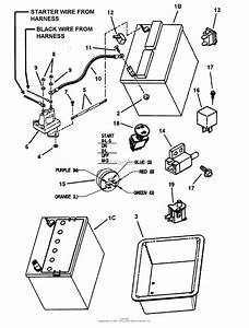 Snapper Lt200h42ibv2  85920  42 U0026quot  20 Hp Hydro Drive Tractor Series I Parts Diagram For Electrical