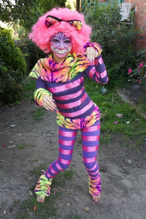 cheshire cat costume diy in collaboration cheshire