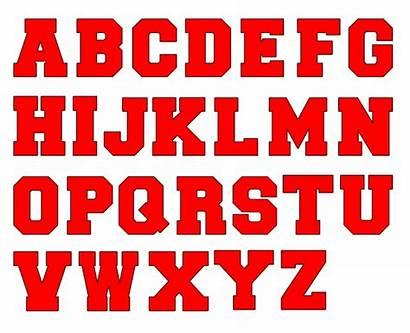 Block Font Letter Acrylic Blank Letters Blanks