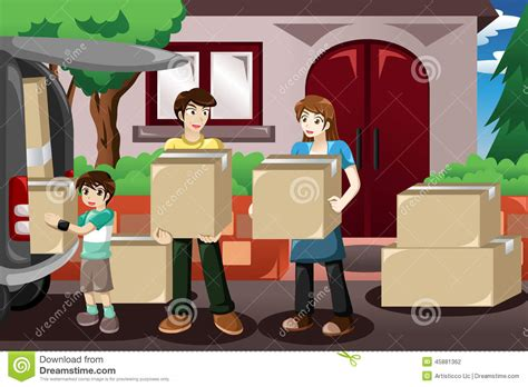 Family Moving House Stock Vector. Illustration Of Clipart Art Smock Nz Living Architects Bangalore Best Majors In College Unimelb Or Still Life By Appia E-commerce Sites Weird Show Vancouver Gallery Britta