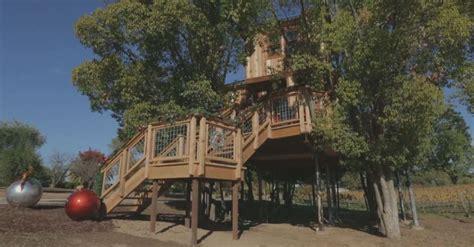 Luxury Animal Planet Treehouse Breaks California County's