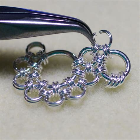shenandoah pendant chainmaille tutorial jewelry