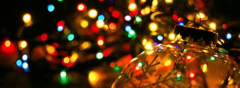 christmas lights ornaments facebook cover