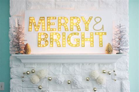 decorate  diy marquee letters blissfully domestic