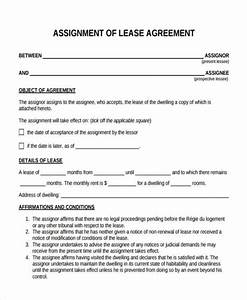 assignment of lease residential assignment of mortgage With assignment of lease template